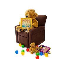 Beary Comfy Photographic Print