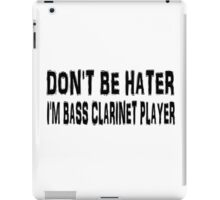 Bass Clarinet iPad Case/Skin