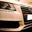 Audi A4 - Vorsprung Durch Technik by AndrewBerry