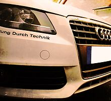 Audi A4 - Vorsprung Durch Technik by AndrewBerry