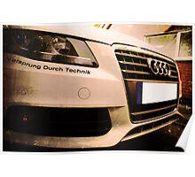 Audi A4 - Vorsprung Durch Technik Poster