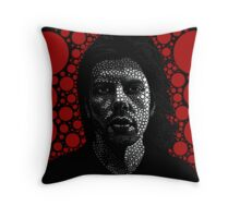 Dax Riggs Throw Pillow