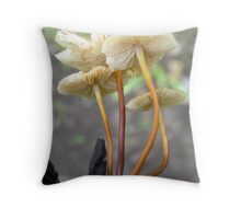 Blurred Beauty Throw Pillow
