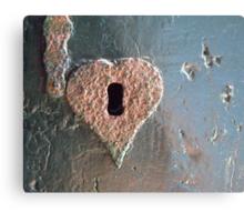 """Old love won't rust..."" Metal Print"