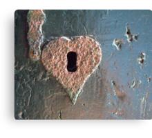 """Old love won't rust..."" Canvas Print"