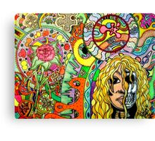 cosmic puzzle of life and death Canvas Print