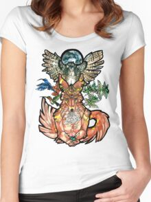 Personal Nature Women's Fitted Scoop T-Shirt