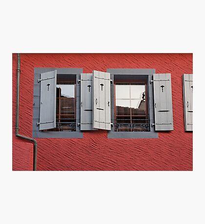 a vivid facade Photographic Print