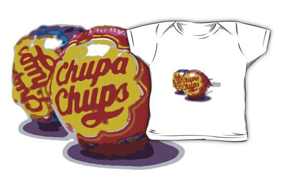 Chupa Chups Pop Art by PheromoneFiend
