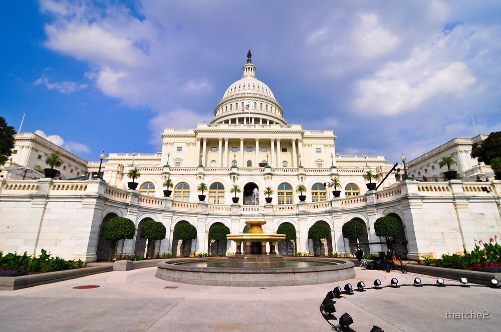 U.S. Capitol by thatche2