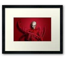 The Red Touch Framed Print