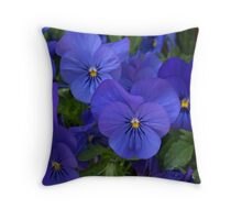 Brilliant Blue. Throw Pillow