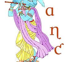 Hare Krishna Dance ! by redqueenself