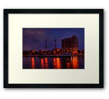 Gasparilla Boat Framed Print