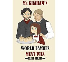 MR. GRAHAM'S MEAT PIES Photographic Print