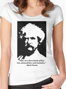 Mark Twain Women's Fitted Scoop T-Shirt