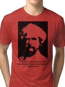 Mark Twain Tri-blend T-Shirt