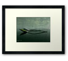 ABSTRACT SPICE Framed Print