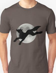 Full Moon Black Wolf T-Shirt