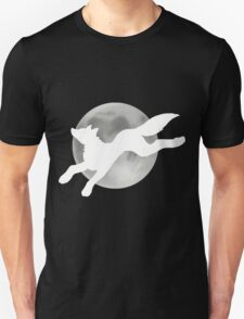 Full Moon White Wolf T-Shirt