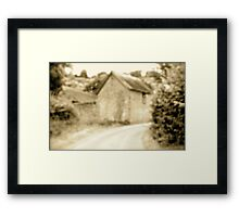 Road to East Hill.. Framed Print
