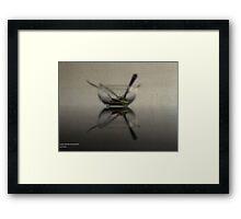 REFLECTIVE SPICE Framed Print