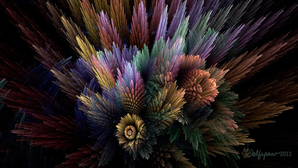 Botanical Still Life by wolfepaw