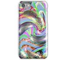 digital distortion of therapy iPhone Case/Skin