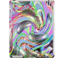 digital distortion of therapy iPad Case/Skin
