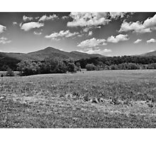 Fields and Mountains - #2 Redux Photographic Print