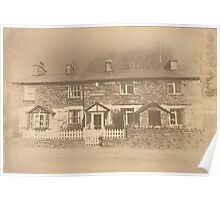 Weir Cottages Chapel Stile Poster