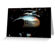 The Triumph  Greeting Card