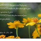 The LORD bless you and keep you 2 by Catherine Davis