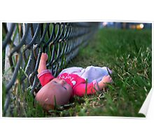 Pink Doll Wall art Poster