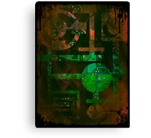 Midnight In Vector 5  Canvas Print