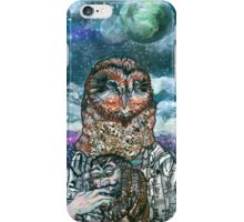 An Owlman and His Lady iPhone Case/Skin