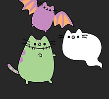 Kawaii Cat Monsters by AstralWisp