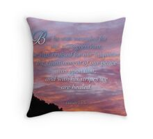 (Inspiration calendar) Healed by Jesus (for anna ryan) Throw Pillow