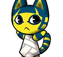Animal Crossing Ankah The Cat by Raythebishie