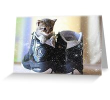 Magical Jordan shoes Greeting Card