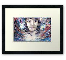 Transmit Framed Print