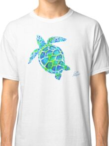 Sea Turtle no splots by Jan Marvin Classic T-Shirt