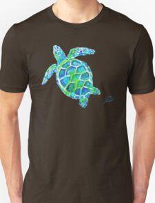 Sea Turtle no splots by Jan Marvin Unisex T-Shirt