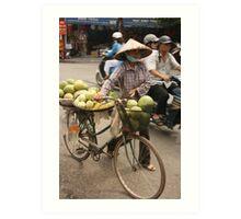 market produce | Hanoi Vietnam Art Print