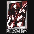 Paul Kossoff Pop Art by PheromoneFiend