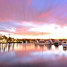 Pink Paradise - Raby Bay, Cleveland Qld by Beth  Wode