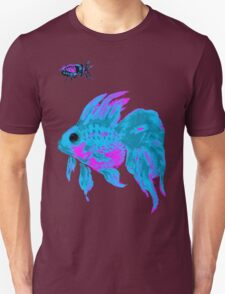 cool electric goldfish & bug Unisex T-Shirt