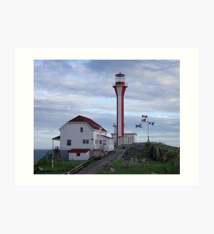 Cape Fourchu Lighthouse Art Print