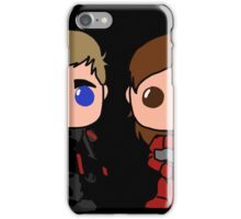 Brian Shayak and Tyler Foley Half Faced iPhone Case/Skin