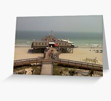 Pier 14 - Myrtle Beach Greeting Card